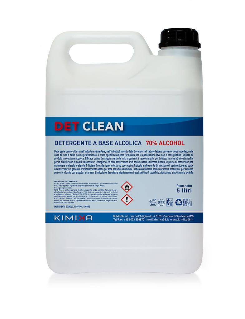 Detergente a base alcolica - Det Clean DTC005G