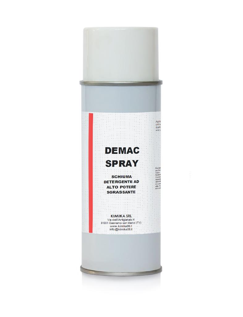 Schiuma detergente sgrassante - Demac Spray DMC031S
