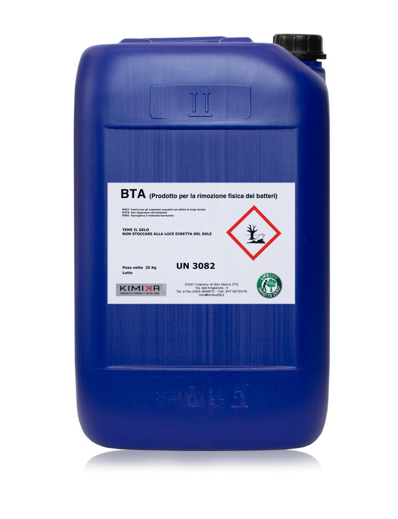 Additivo battericida per cabine di verniciatura - BTA BTA025