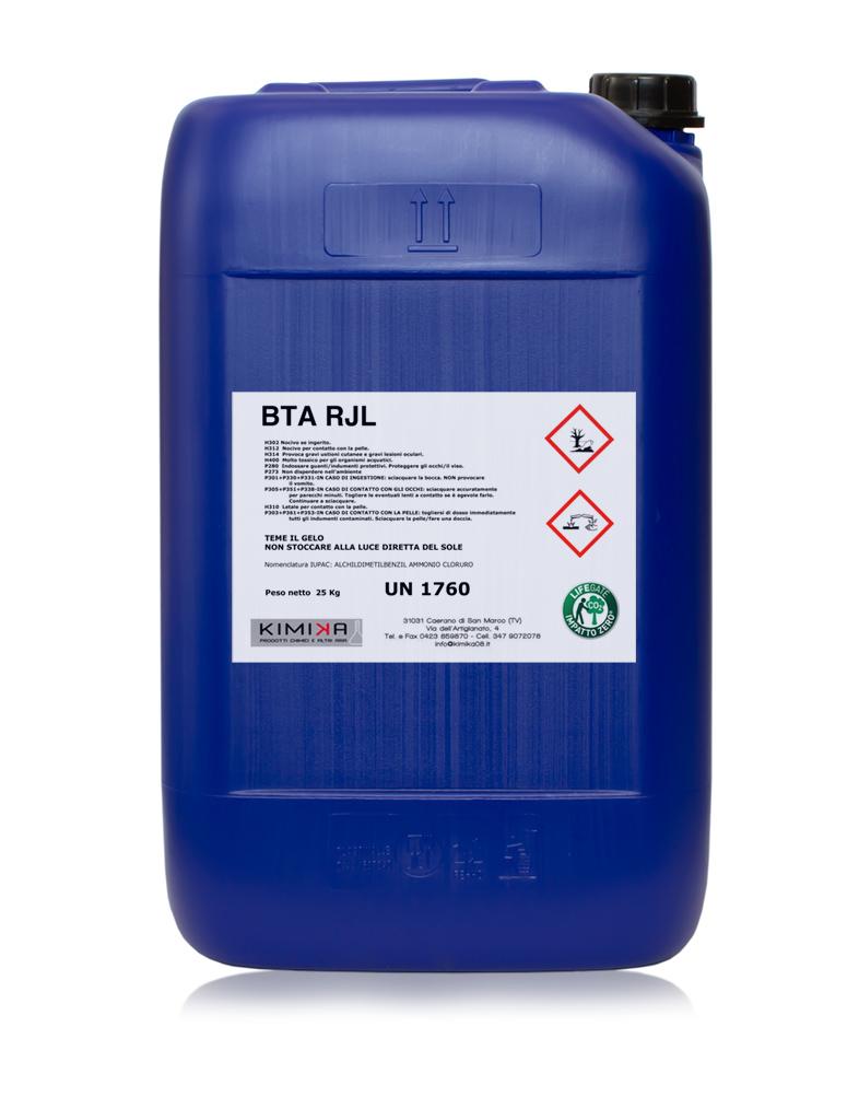 Additivo battericida per cabine di verniciatura - BTA RJL RJL025