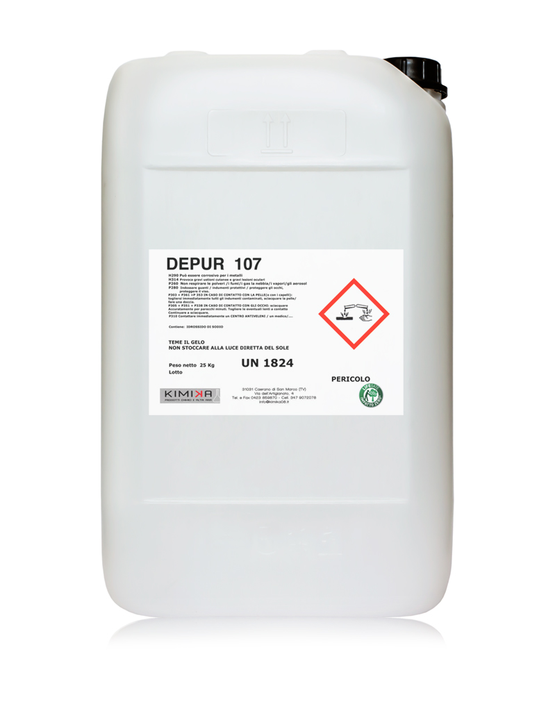 Additivo per flocculazione-depurazione-delle-acque - Depur- 107 DPR107