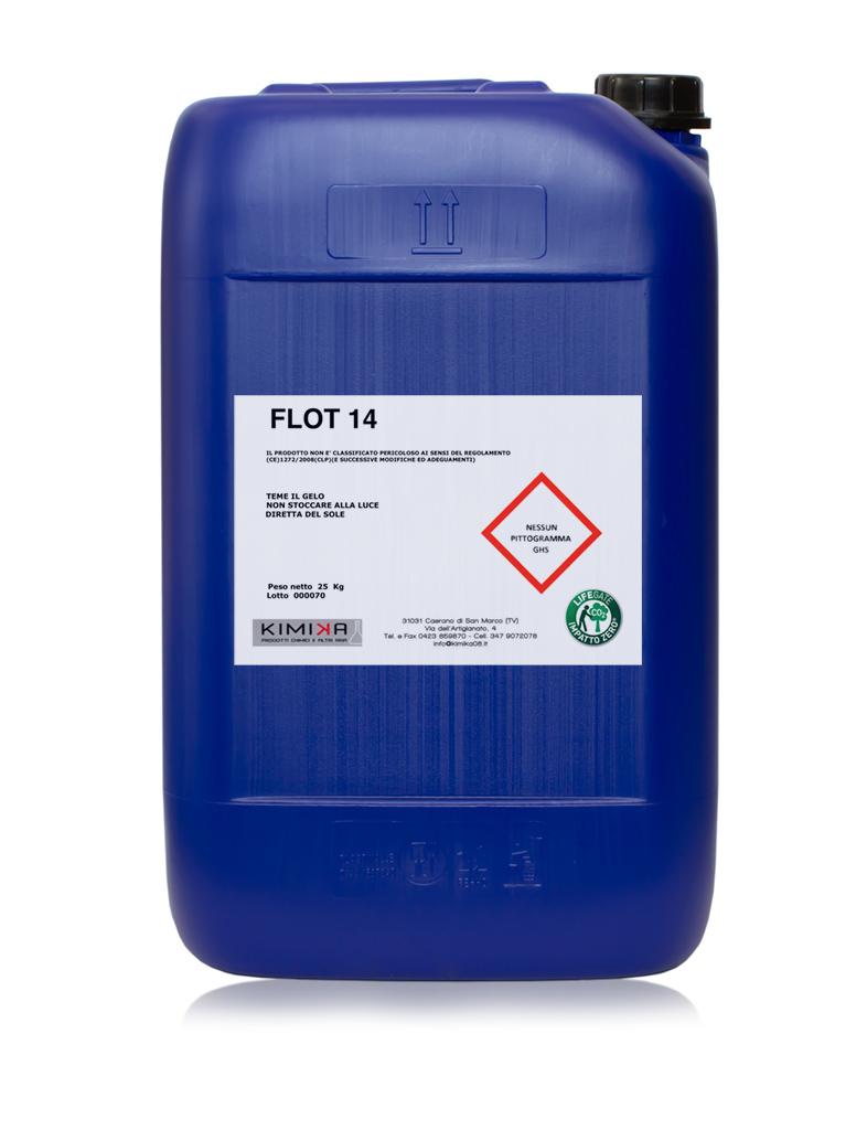 Coagulante denaturante per la depurazione delle acque di verniciatura - Flot 14 FL1425