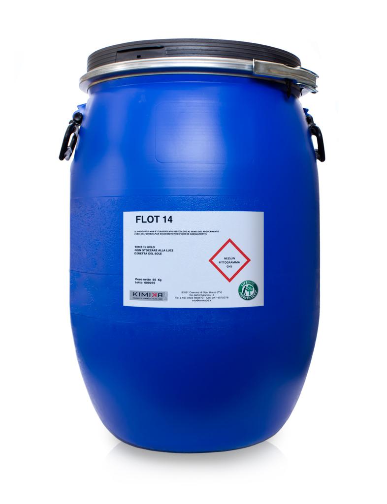 Coagulante denaturante per la depurazione delle acque di verniciatura - Flot 14 FL1460