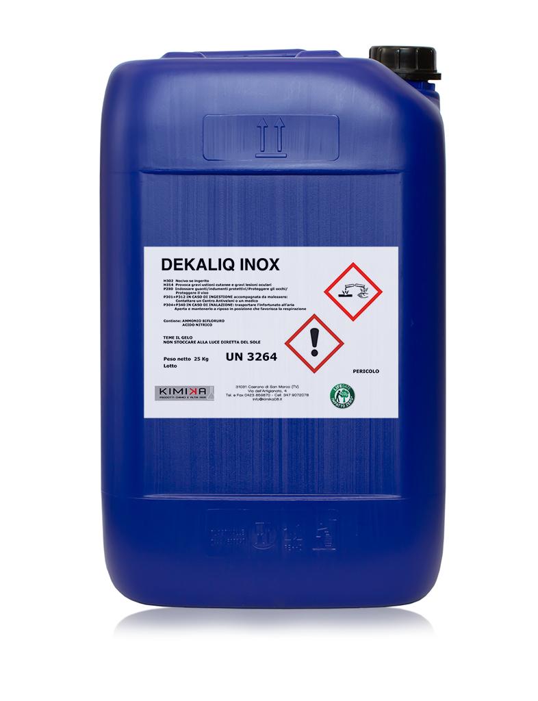 Decapante per la pulizia dell'acciaio - Dekaliq Inox DKL025