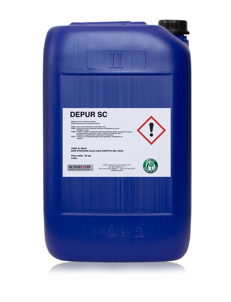 Denaturante schiumogeno per il trattamento- delle acque - Depur Sc DPSC025