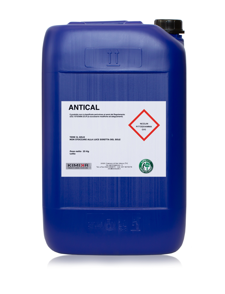 Depurazione delle acque impianti di verniciatura - Antical ANC025