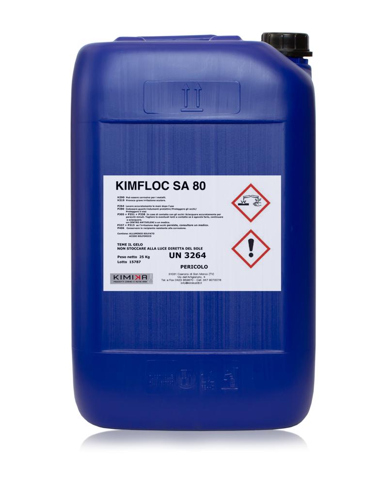 Depurazione delle acque - Kimfloc Sa 80 KSA080