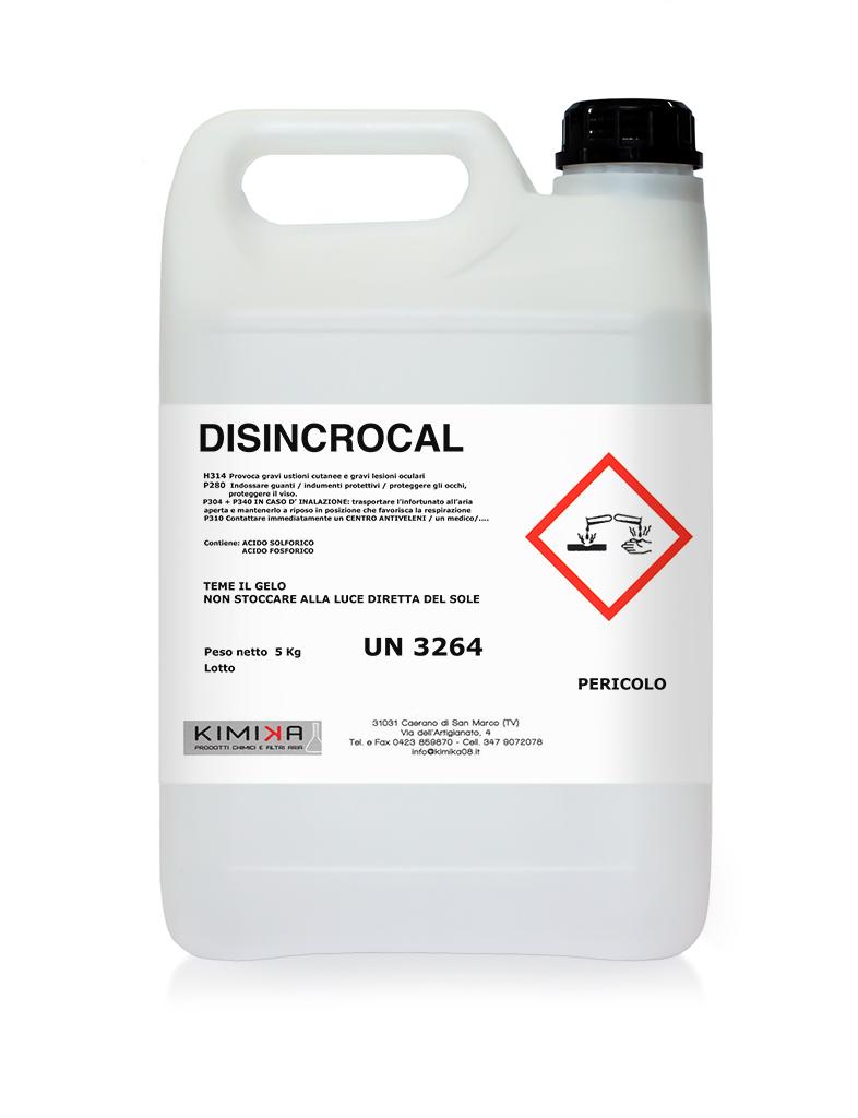 Detergente disincrostante - Disincrocal DSN003D