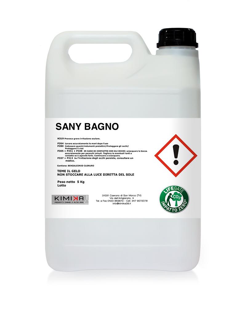 Detergente per il bagno - Sany Bagno BAG006D