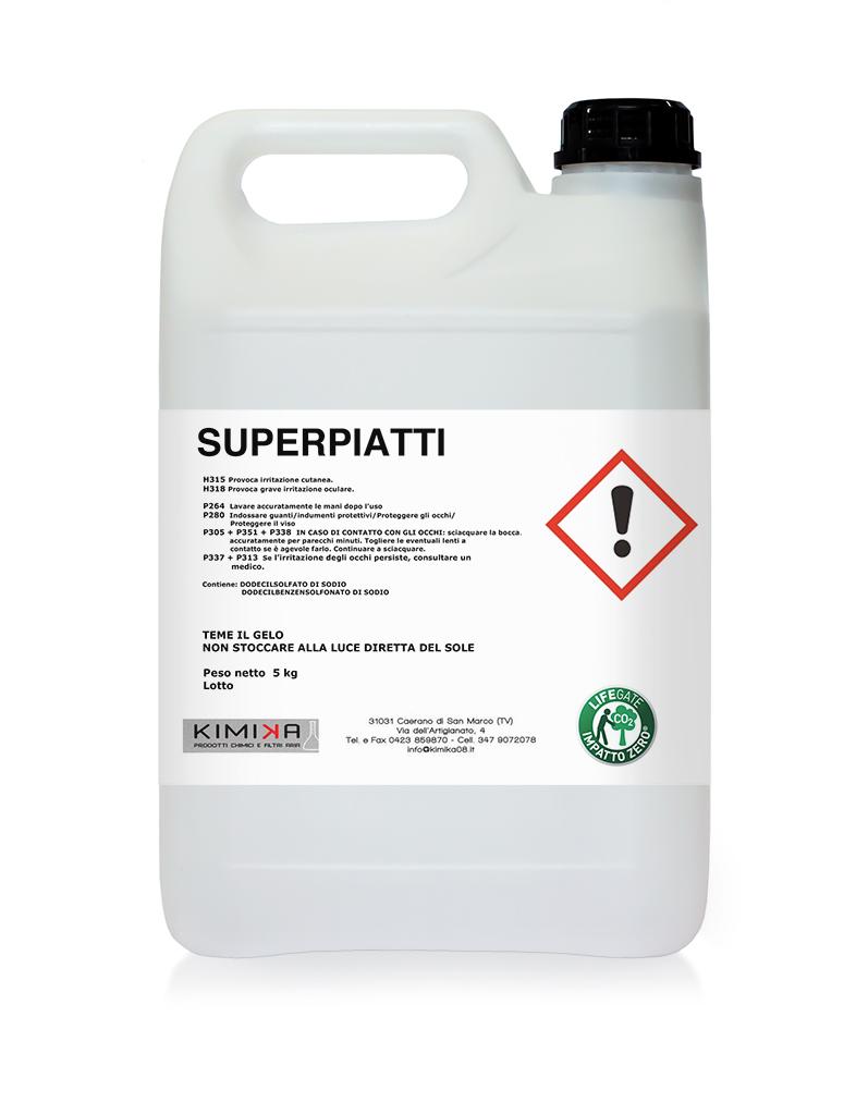 Detergente per il lavaggio delle stoviglie - Superpiatti SPP008D