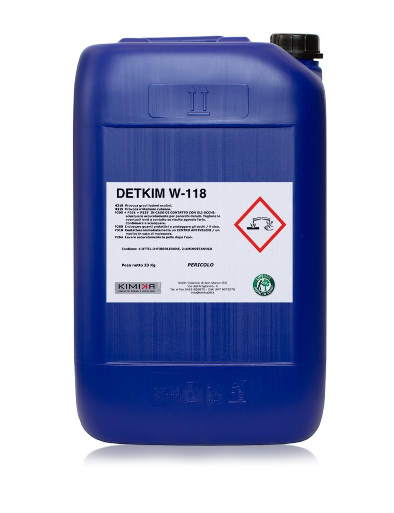 Detergente sgrassante per metalli - Detkim W-118 DTW118