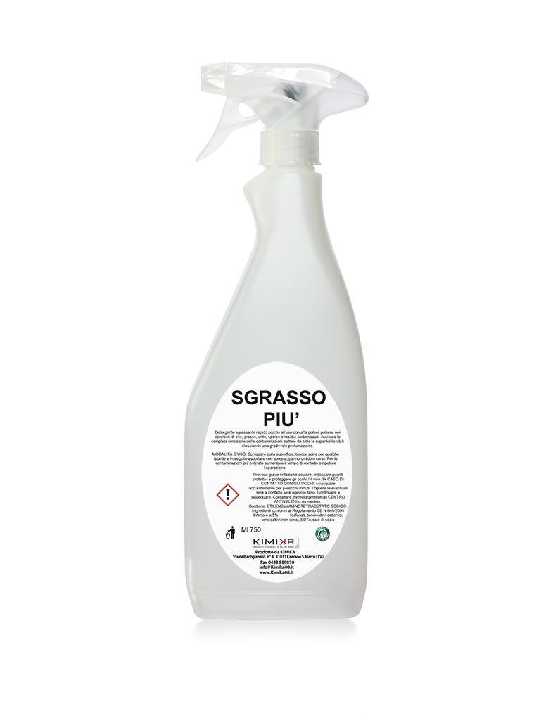 Detergente sgrassante - Sgrasso Più GRS014D
