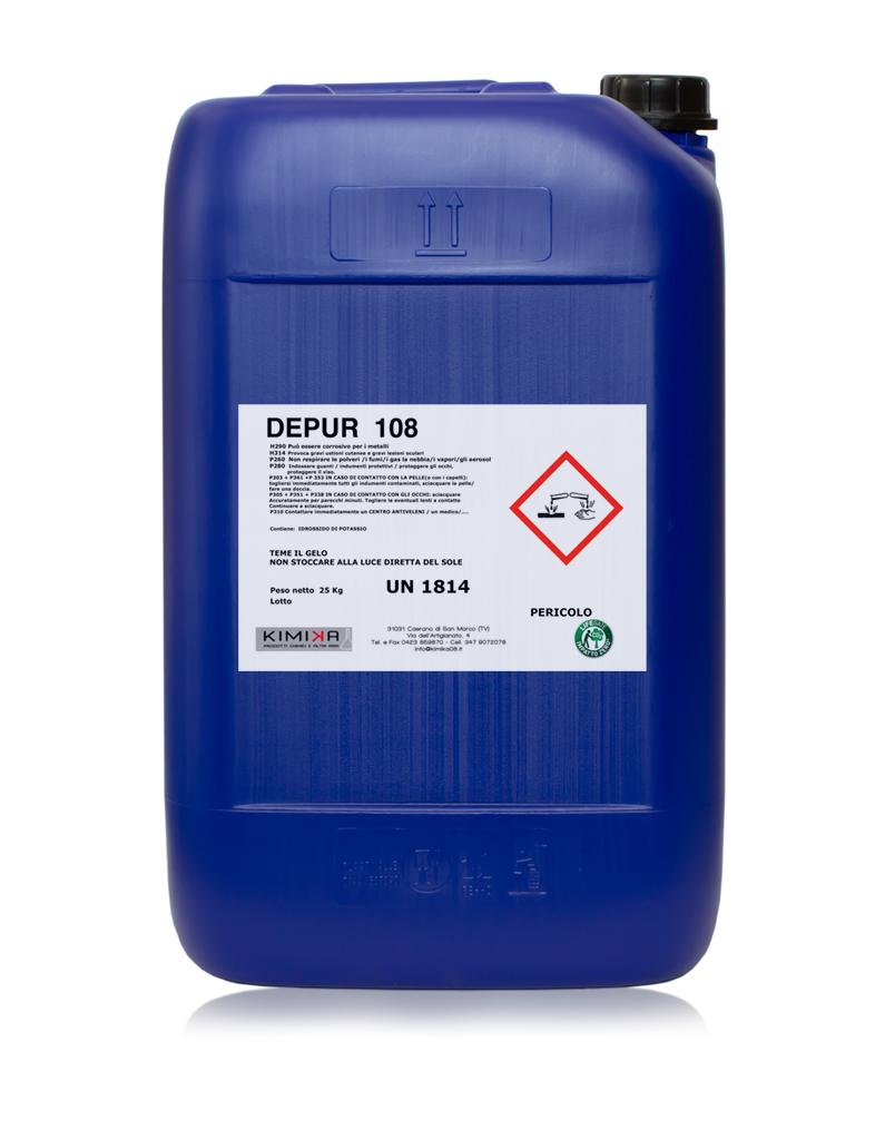 Flocculante denaturante per la depurazione delle acque - Depur 108 DPR108