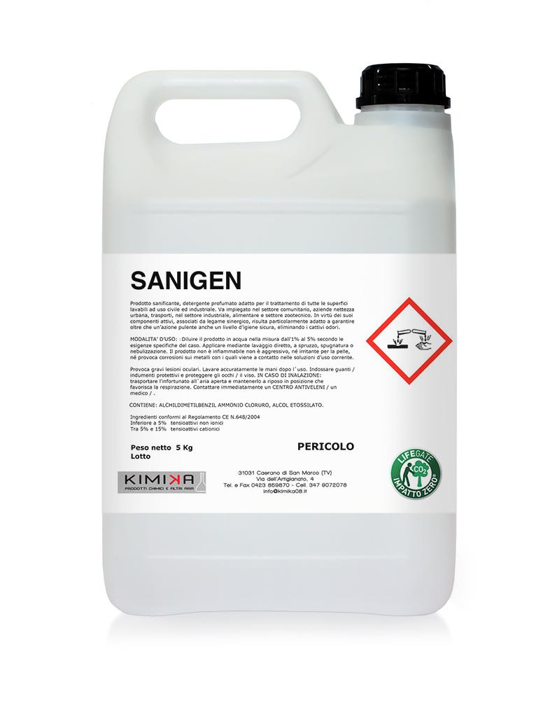Prodotto sanificante - Sanigen SNG005D