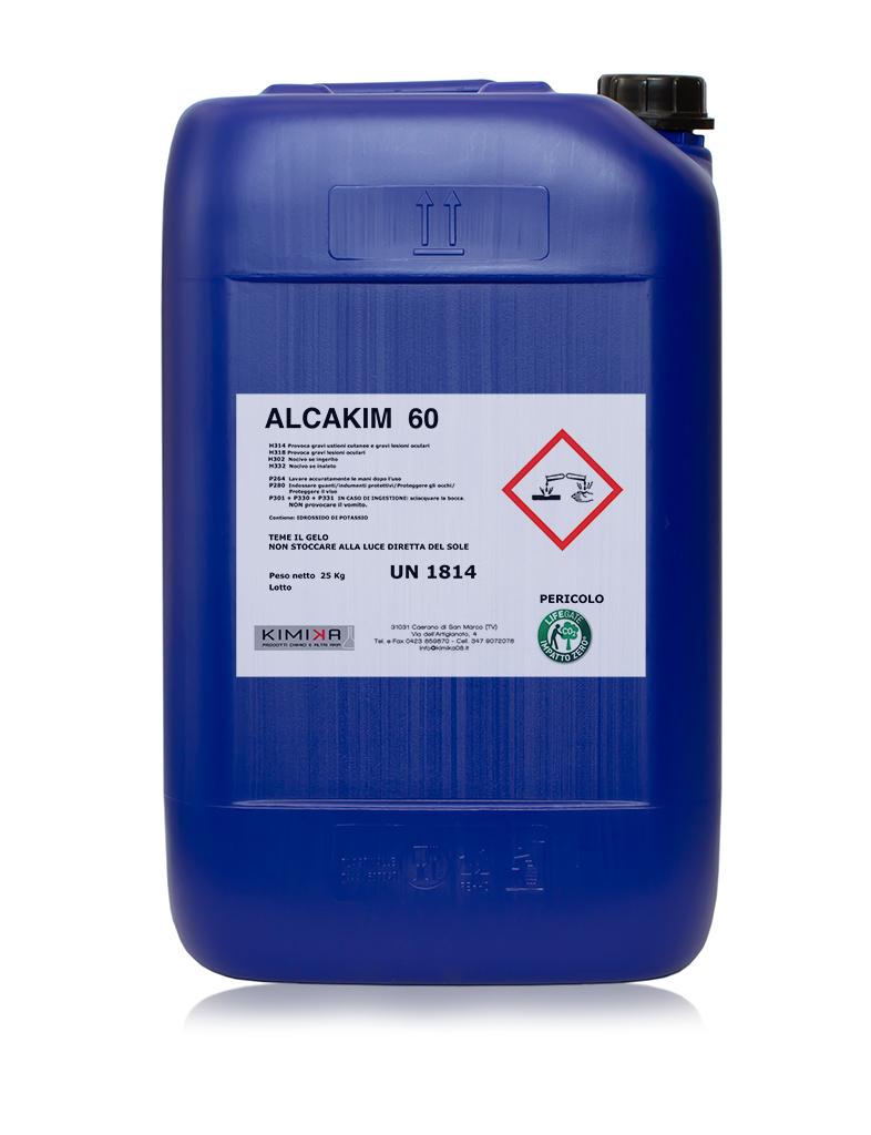 Sgrassante per metalli - Alcakim 60 ALC060
