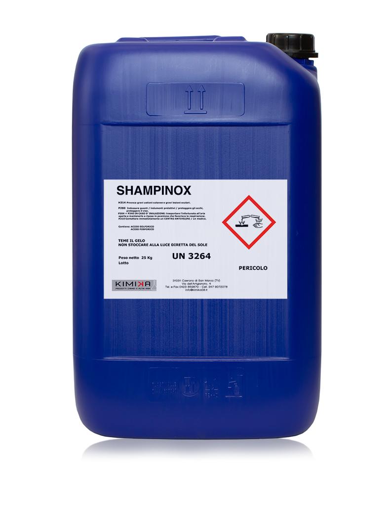 Sgrassante per la pulizia acciaio - Shampinox SHP025