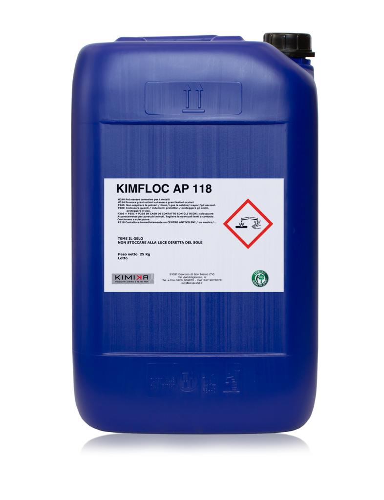 Depurazione delle acque reflue - Kimfloc AP 118 KAP118