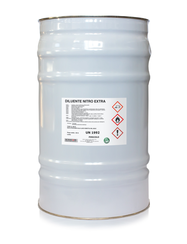Diluente al nitro extra per marmo e pietre - DNE025